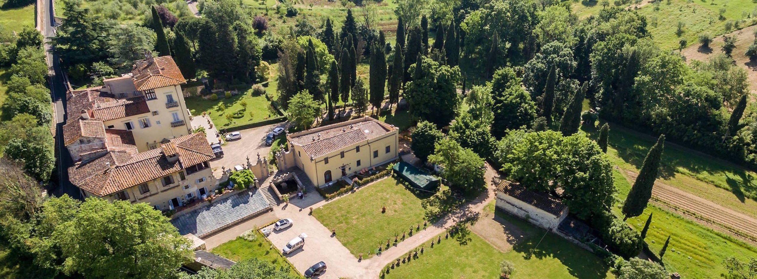 Esterno Villa Monteverdi